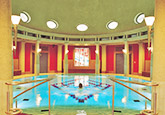 Kuppelhalle in der Vita Classica Therme